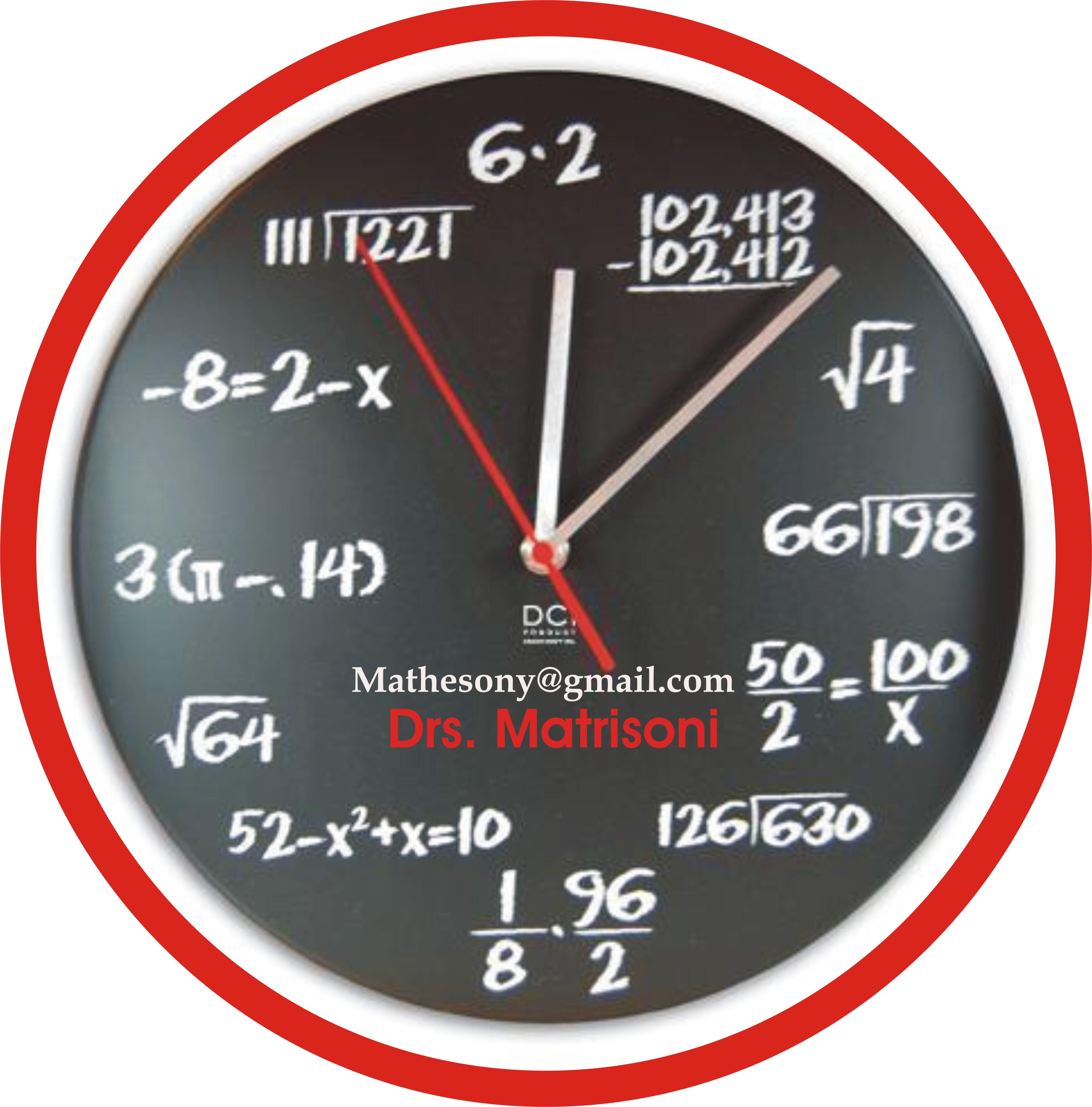 Matematika sebagai raja dan sekaligus pelayan