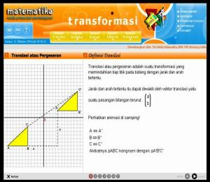 Matriks Transformasi Power Magic Math